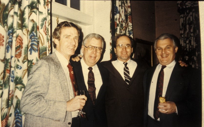 Drs. Lowell Lutter,  John McDermott, Kenneth Johnson, Sigvard Hansen