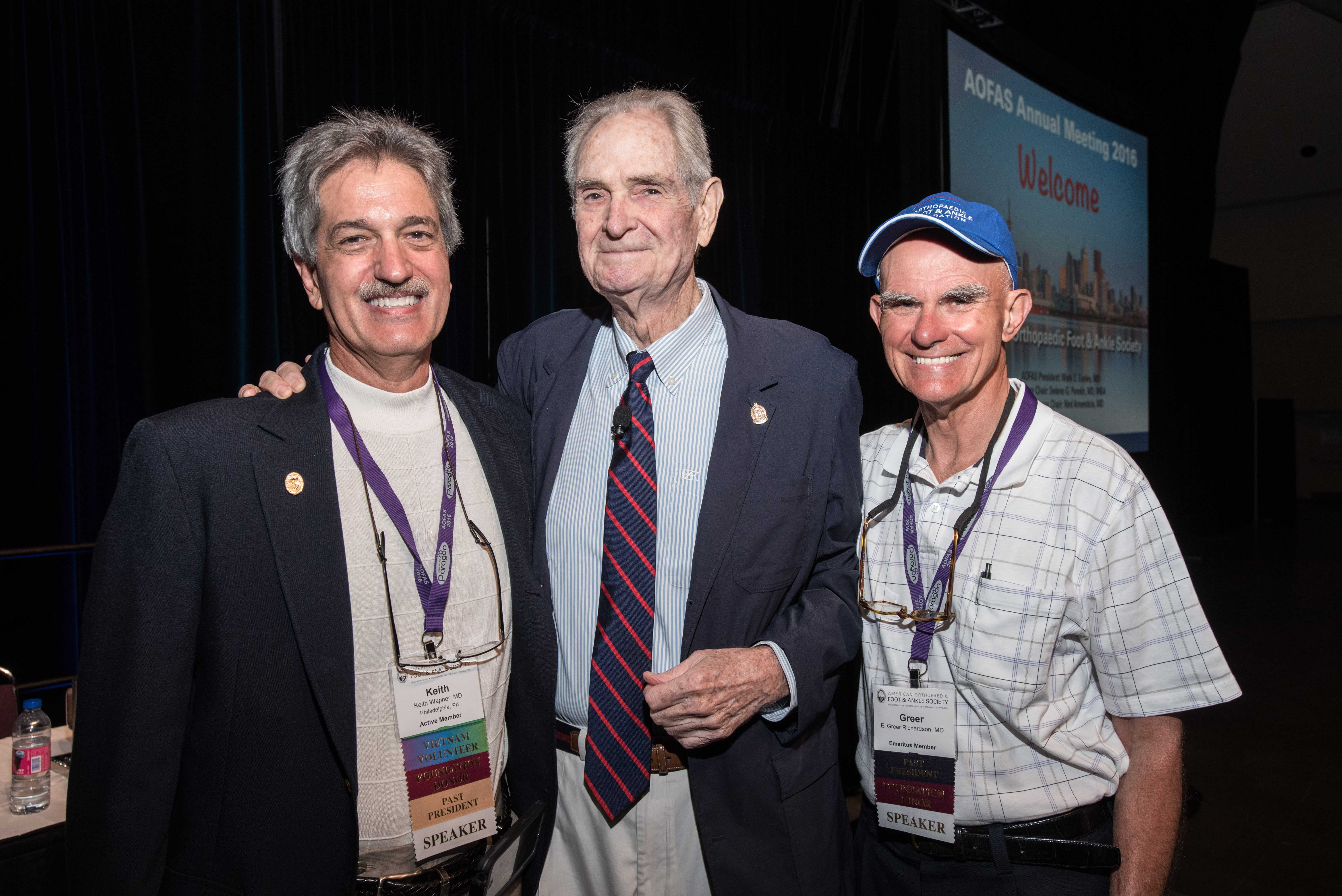 Keith Wapner, MD, William Hamilton, MD, and E. Greer Richardson, MD