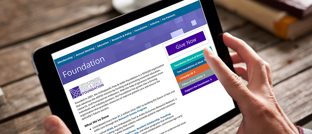 Welcome to the New AOFAS Website!